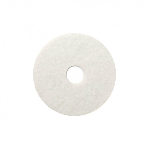 """WOCA - 16"""" White Floor Pad - 10mm Thick"""