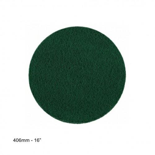 """WOCA - 16"""" Green Super Floor Pad - 20mm Thick"""