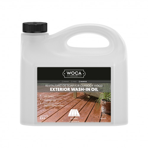 2.5ltr: WOCA - Exterior Wash-in Oil