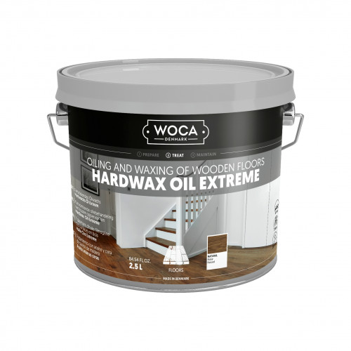 2.5ltr: WOCA - Hardwax Oil Extreme - Natural - For Machine Application