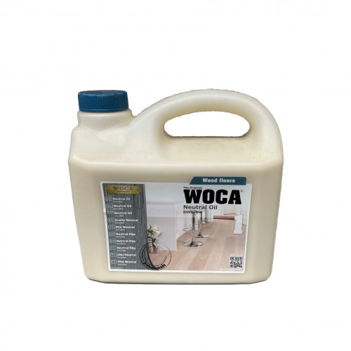 2.5ltr: WOCA - Neutral Oil - For Oak Only - Invisible