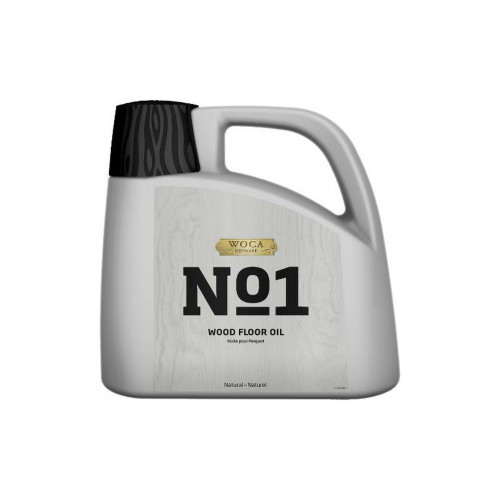 2.5ltr: WOCA - No1 Wood Floor Oil - Extremely Hardwearing 1K
