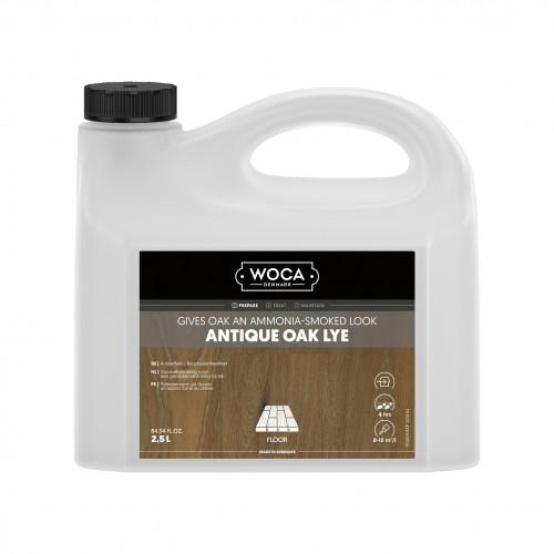 2.5ltr: WOCA - Antique Oak Lye - Brown