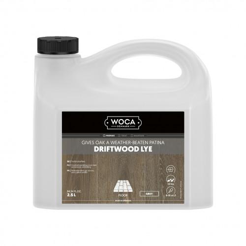 2.5ltr: WOCA - Driftwood Lye - Grey