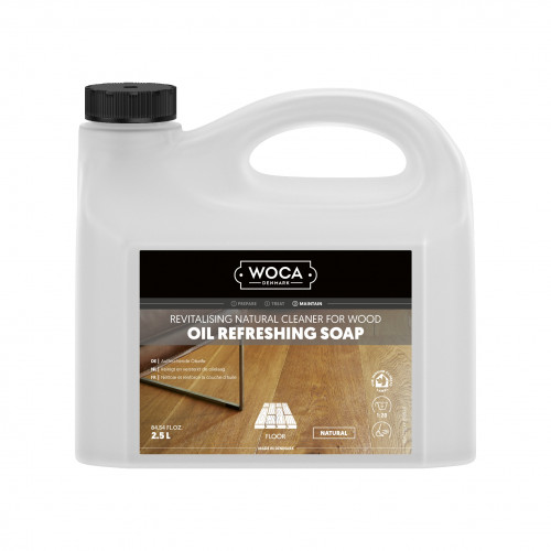2.5ltr: WOCA - Oil Refresher - Natural Refreshing Soap