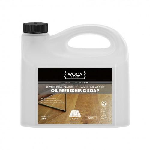 2.5ltr: WOCA - Oil Refresher - White Refreshing Soap