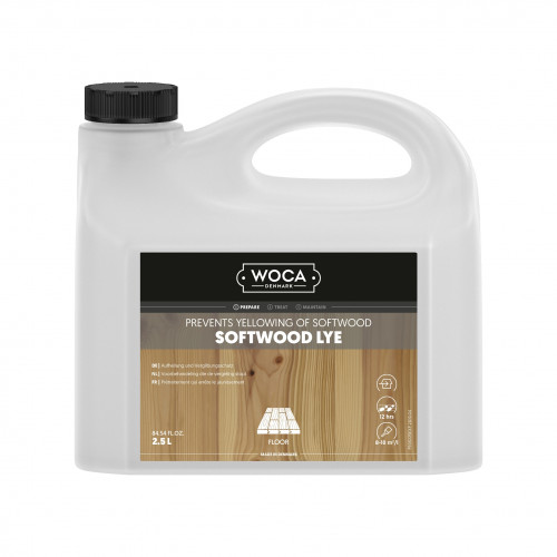 2.5ltr: WOCA - Softwood Lye - **LQ UN1824**