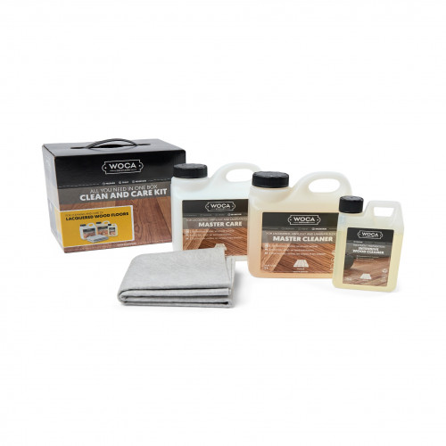 WOCA - Clean & Care Kit - for Lacquered Wood