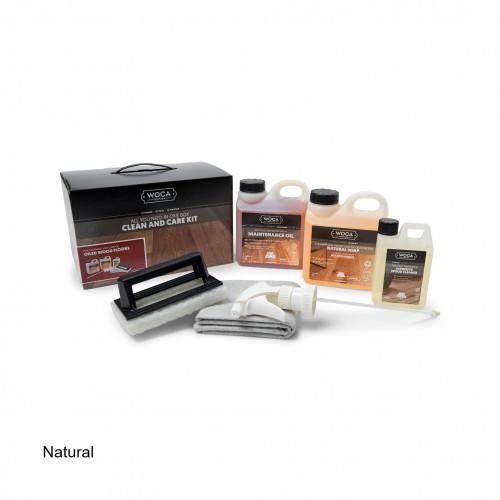 WOCA - Clean & Care Kit - Oiled Wood Floor - Natural