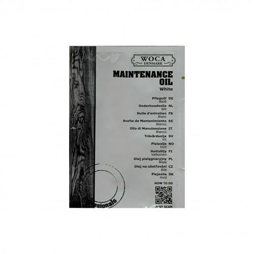 25ml: WOCA - Maintenance Oil - White