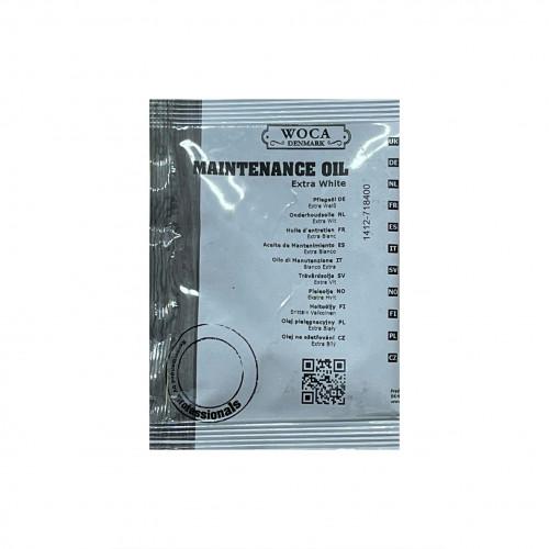 25ml: WOCA - Maintenance Oil - Extra White