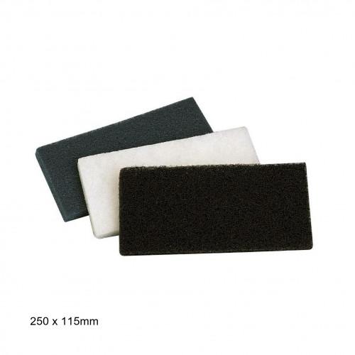 WOCA - Rectangular Standard Pad - White - 250 x 115 x 8 mm