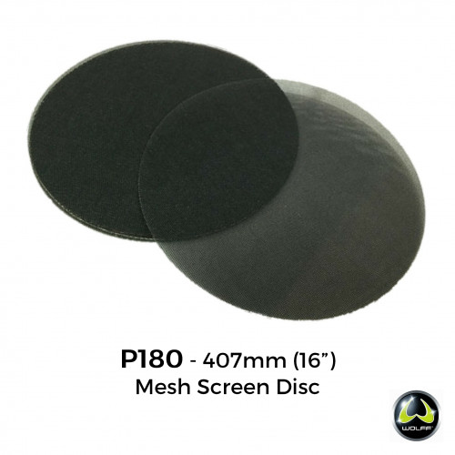 Wolff - P180 - Gauze Mesh Screen Disc - 406mm
