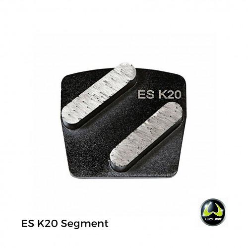 Wolff - Neo - ES K20 Segment - for Ninja Disc & NEO - Black