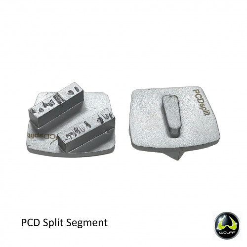 Wolff - Neo/Ninja Disc - PCD Split Silver Segment (priced each)