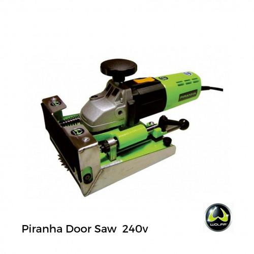 Wolff - Piranha - Door Saw -  inc HM Blade & Systainer Box - 230v