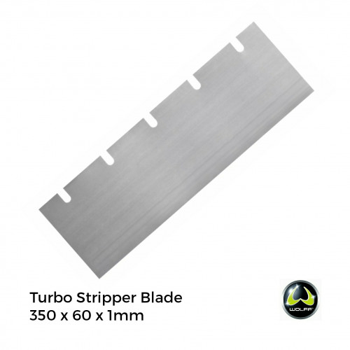 Wolff - Turbo Stripper - Blade - 350x60x1.0mm