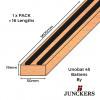 1pk: Junckers - UnoBat 45 Battens -19x50x3600mm - (16/pk = 57.6lin m/pk)