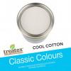 1ltr: Treatex - Classic Colour Collection - Cool cotton - (500e)